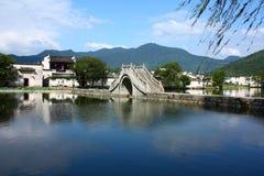hongcun chińska wioska Obraz Royalty Free