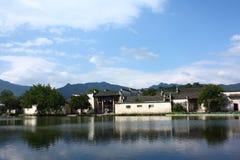 hongcun chińska wioska Zdjęcie Stock