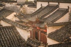 Hongcun-Dorf lizenzfreies stockbild
