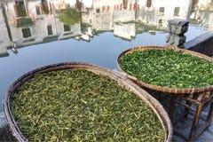 Hongcun forntida by i södra Kina Royaltyfri Fotografi