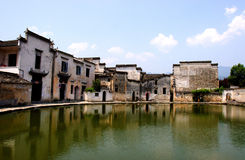 Hongcun,the Famous Chinese Village Royalty Free Stock Photos