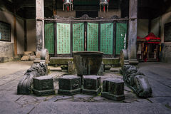 Hongcun village. Ancient town in south China, Anhui province Stock Photos