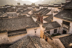 Hongcun village. Ancient town in south China, Anhui province Stock Image