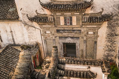 Hongcun village. Ancient town in south China, Anhui province Royalty Free Stock Photography