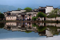 Hongcun Village in Anhui Provunce, China Royalty Free Stock Photography