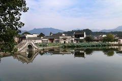 Hongcun village, China Royalty Free Stock Photos