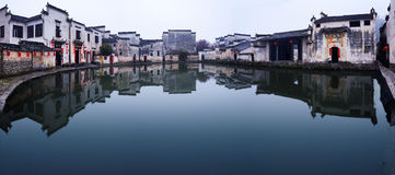 Hong Village in Anhui Province , China Royalty Free Stock Photo