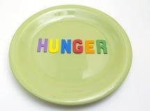 Honger stock foto