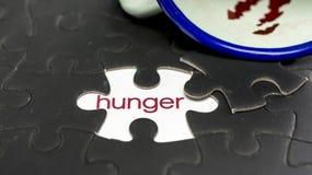 honger stock afbeelding