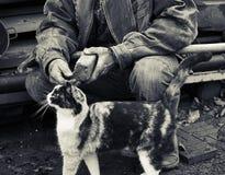 Honger en armoede royalty-vrije stock foto