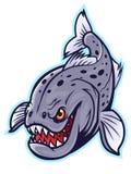 Hongerige Piranha vector illustratie