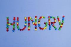 Hongerige snack Royalty-vrije Stock Foto's