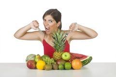 Hongerige vitaminen Royalty-vrije Stock Foto's