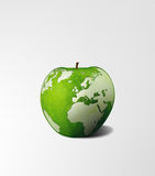 Hongerige wereld Stock Foto