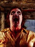 Hongerige zombie Stock Fotografie