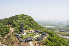 Hongjue temple pagoda Royalty Free Stock Image
