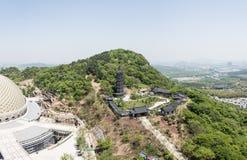 Hongjue temple pagoda Stock Images