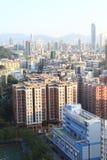 Hongkong. The highest view in sham shui po, hongkong stock photo