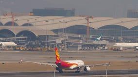 Hongkong Air Cargo Airbus take off