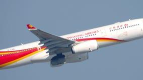 Hongkong Airlines takes off