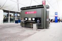 Hongkong airport Royalty Free Stock Photography