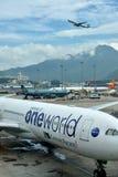 Hongkong Airport operation Stock Image