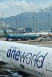 Hongkong Airport plane maintance and facilities Royalty Free Stock Photo