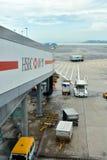 Hongkong Airport working and facilities Stock Images