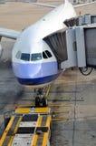 Hongkong Airport working view Stock Images