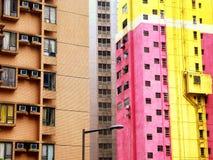 Hongkong apartments buildings Stock Image
