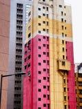 Hongkong apartments buildings Royalty Free Stock Photo
