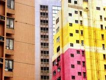 Hongkong apartments buildings Stock Photography