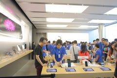 Hongkong: Apple Store Stock Afbeeldingen