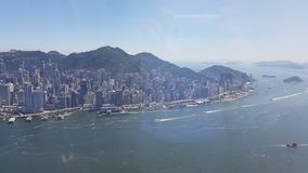 Hongkong, asia island, building Royalty Free Stock Photography