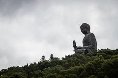Hongkong big buddha Royalty Free Stock Photo