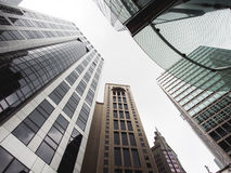 Hongkong Building. Modern business center in hongkong Stock Photos