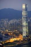 Hongkong buildings Royalty Free Stock Photo