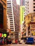 Hongkong street view Stock Photos