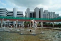 Hongkong, China: Building Landscape Royalty Free Stock Image