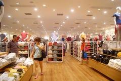 Hongkong, China: large-scale comprehensive shopping mall V City Stock Photo