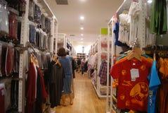 Hongkong, China: large shopping plaza V City Royalty Free Stock Image