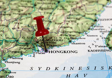 Hongkong in China Royalty Free Stock Images