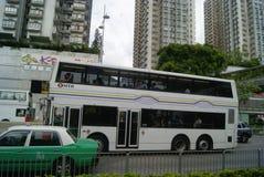 Hongkong, China: Tuen Mun bus station Stock Photo