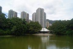 Hongkong, China: Tuen Mun Park Lake Stock Images