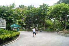 Hongkong, China: Tuen Mun Park Stock Photo
