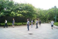 Hongkong, China: Tuen Mun Park Stock Images