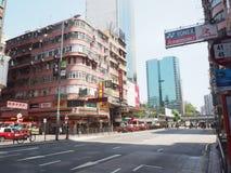 Hongkong city Royalty Free Stock Photography