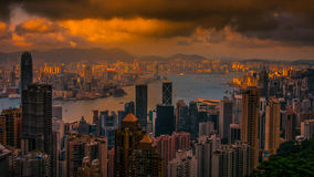 Hongkong City Royalty Free Stock Photos