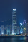 Hongkong City Skyline Royalty Free Stock Image