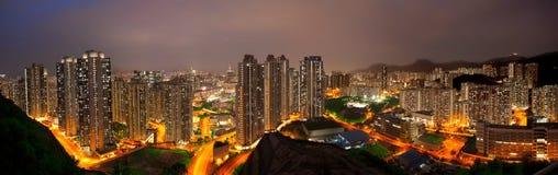 Hongkong city sunset Stock Images